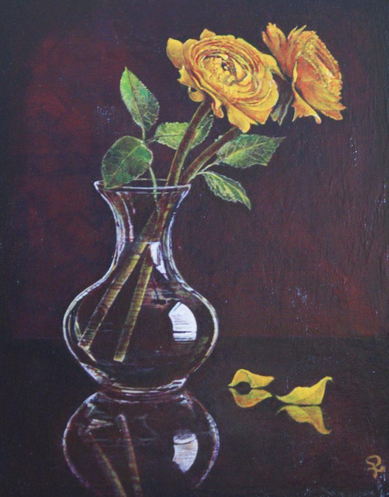 Stilleven met bloemen - Piet van der Zee