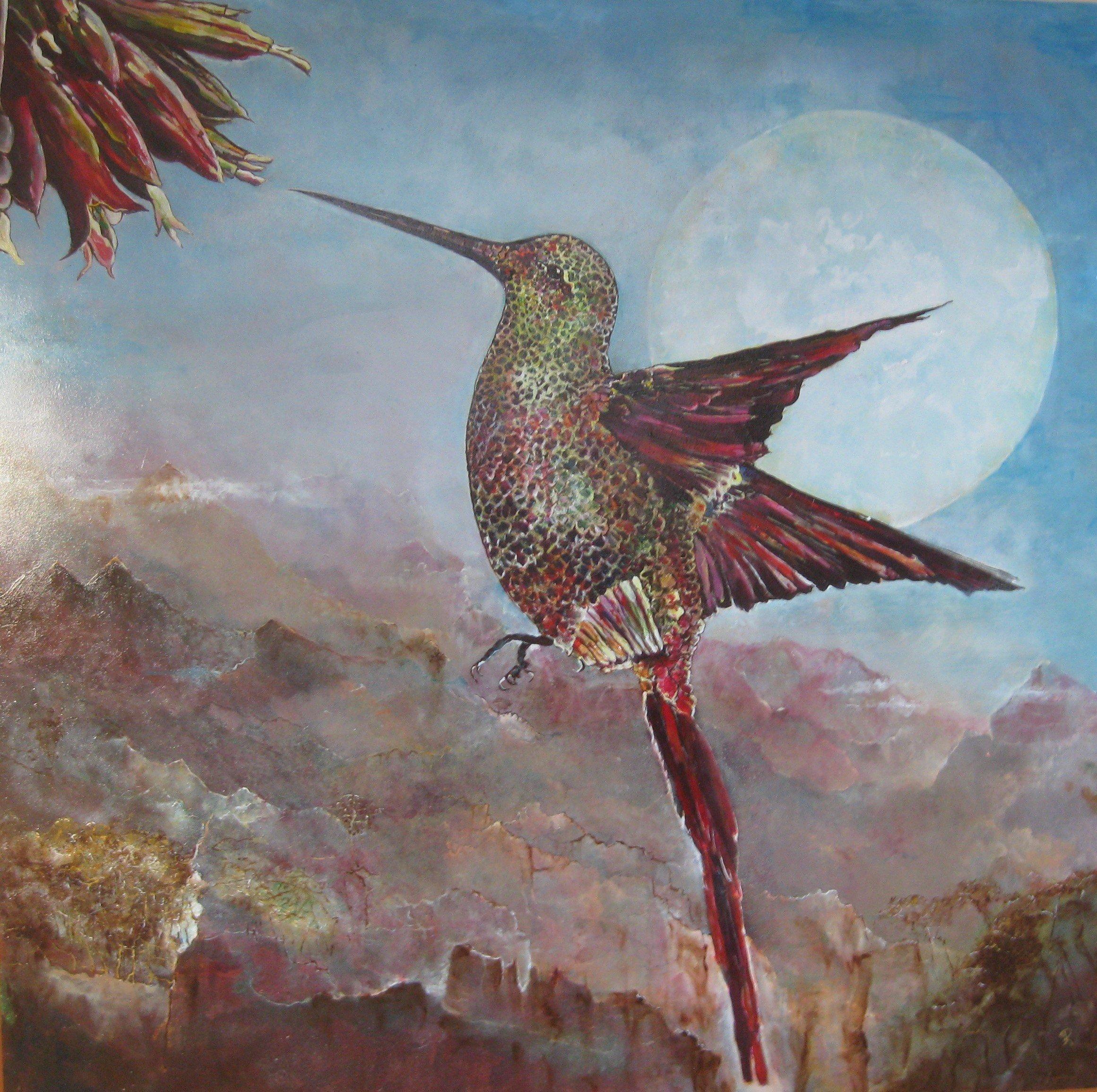 Kolibrie - Piet van der Zee