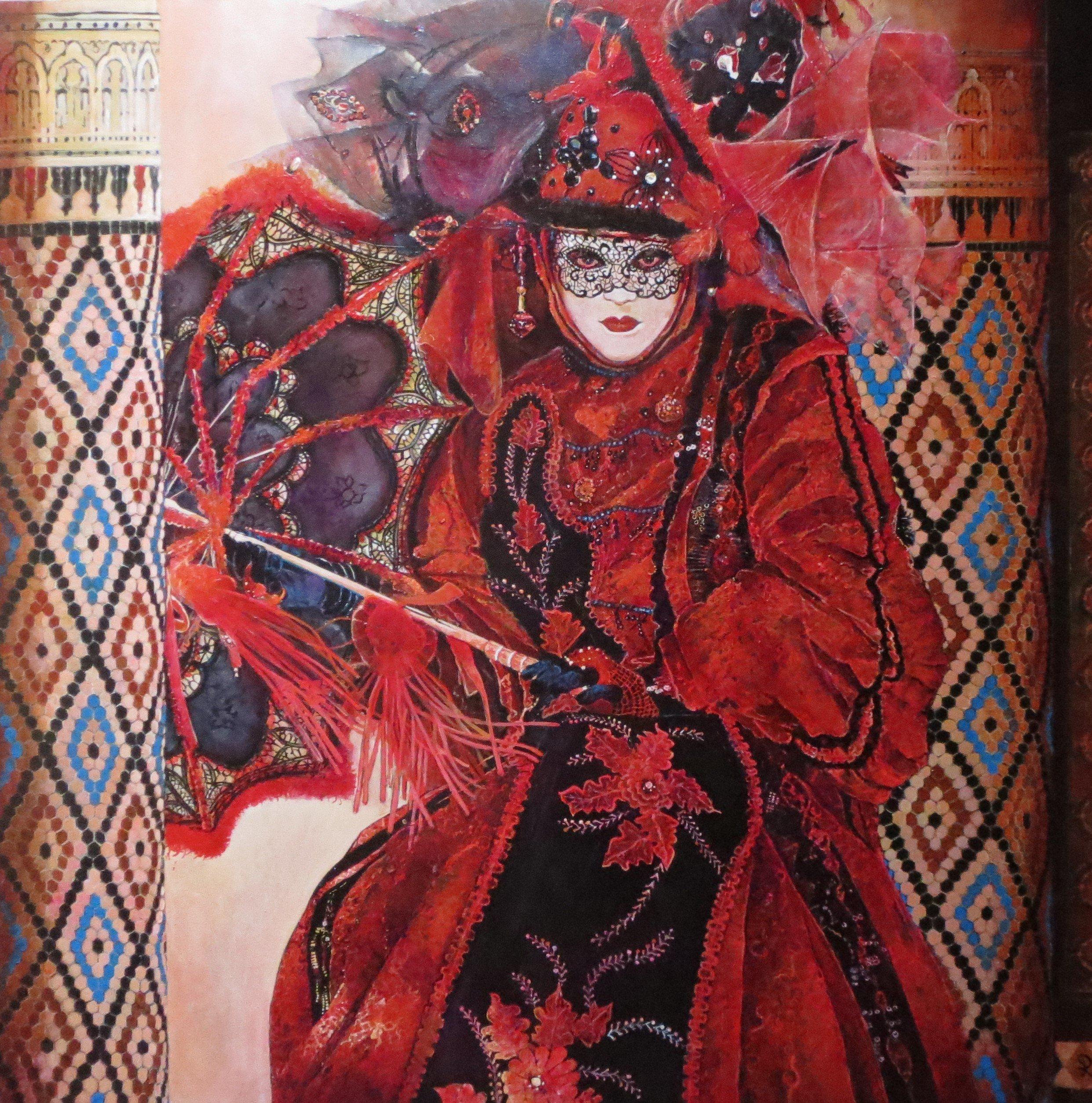 Lady in Red - Piet van der Zee