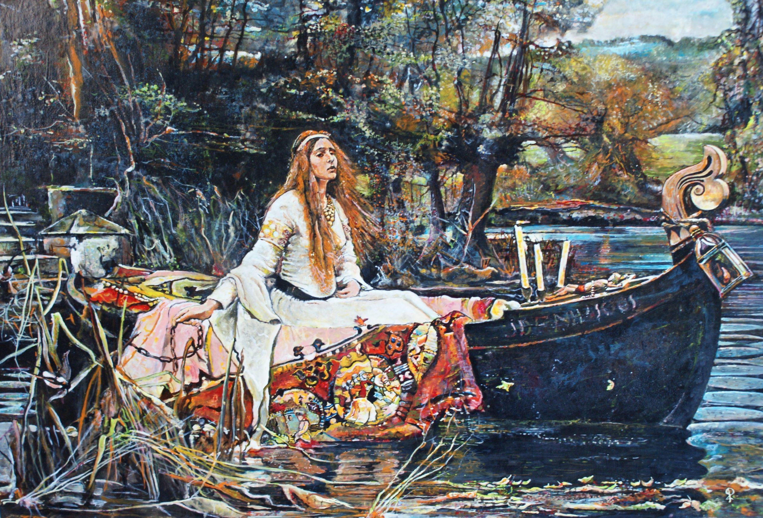 Lady of Shalott - Piet van der Zee