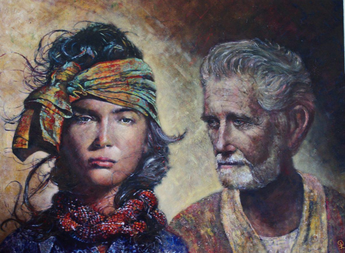 Ruth en Boaz - Piet van der Zee